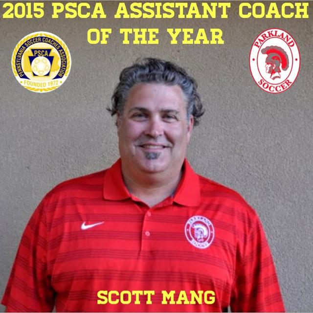 Scott Mang - 2015 PSCA Assistant Coach of the Year